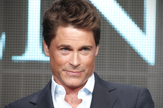 """Actors Rob Lowe, who stars in the National Geographic Channel movie """"Killing Kennedy"""", participates in a panel discussion at the Television Critics Association Cable TV Summer press tour in Beverly Hills, California July 24, 2013. Lowe plays President Kennedy. The film will be telecast in November 2013, 50 years after Kennedy was assassinated. REUTERS/Fred Prouser (UNITED STATES - Tags: ENTERTAINMENT) - RTX11XHU"""